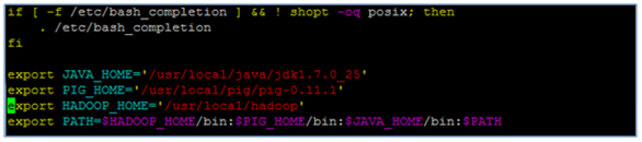 chiu hadoop pig install instructions Pig setup  download pig run modes grunt shell script files  hadoop 020 2 -   java  see the sample  code for instructions about the passwd file used in the example.